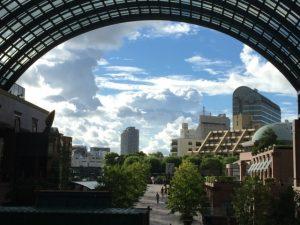 恵比寿ガーデンプレイス。東京都写真美術館はこの中にあります。