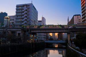 五反田の目黒川