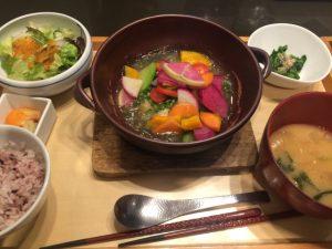 レミィ五反田で野菜たっぷりのごはん♪